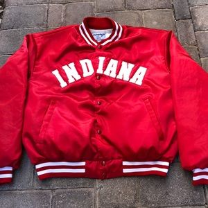 "Vintage Swingster ""Indiana"" Satin Jacket"